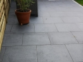 Porcelain patio in Penwortham - View to calm area