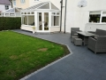 Porcelain patio in Penwortham - View to Conservatory