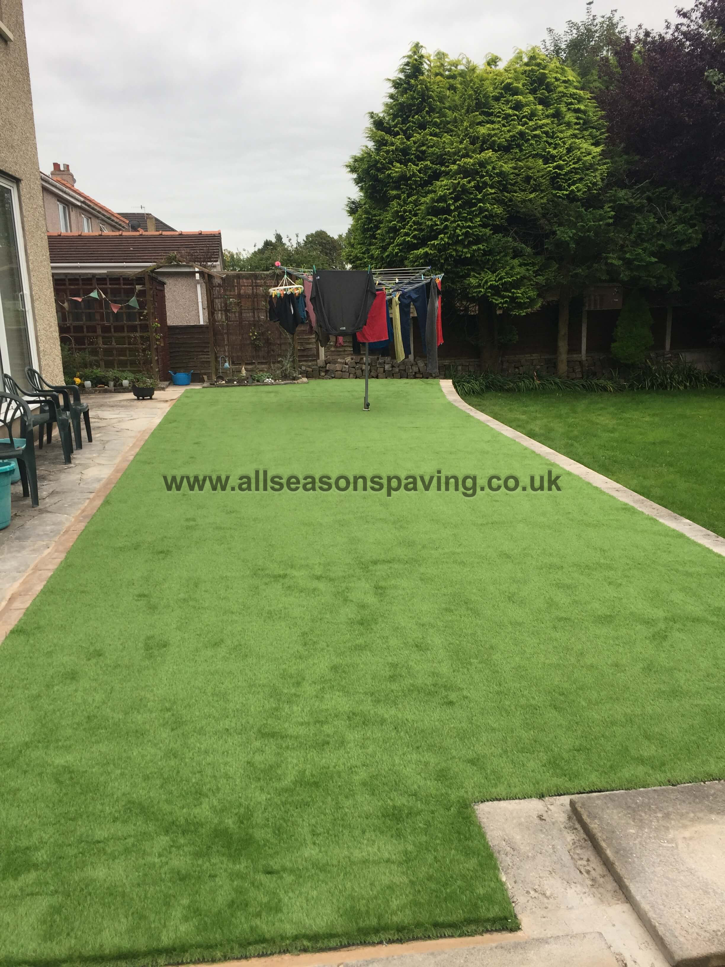 Artificial Lawn installed in Morecambe | Artificial Grass