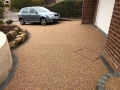 complete rose resin bound driveway