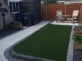 Paved patio in Lancashire