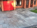 indian sandstone driveway artificial grass