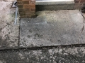 before installation resin grey driveway