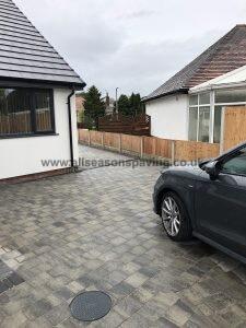 Driveway installation