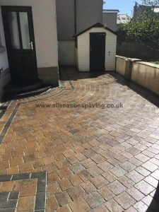 Morecambe Driveway Paved