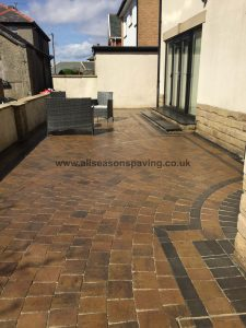 10 years after Block Paving Morecambe
