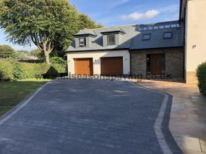 Lancaster driveway block paving & indian sandstone