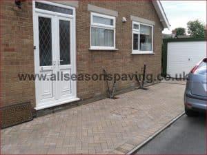 standard block paving preston driveway