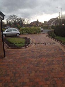 farrington driveway block paving leyland