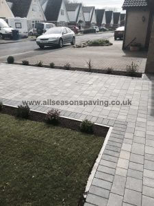grey block paving in farrington leyland