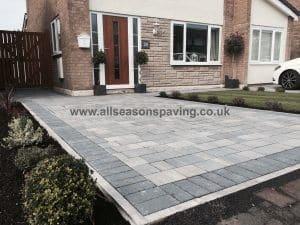 Leyland block paving - farrington driveway