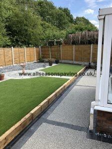 Block paving & artificial grass Preston