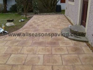 installed Morecambe driveway block paving