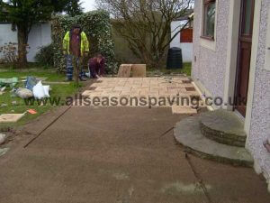 installing block paving Morecambe