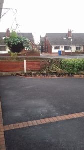 Picture framed tarmac driveway chorley