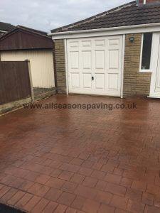 patterned concrete driveway chorley
