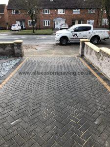 leyland walling & driveway