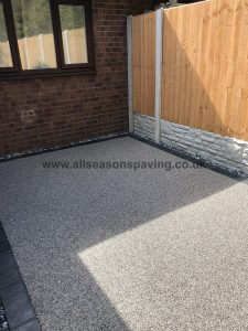 resin bound driveway close up - example for chorley