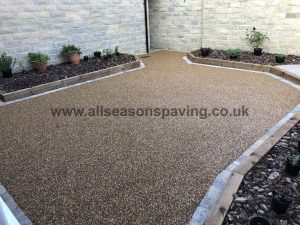 resin bound full patio / driveway Lancaster