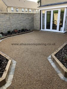 example resin bound driveway leyland - patio