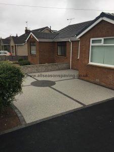 resin bound driveway / garden morecambe