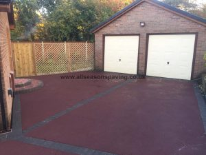 tarmac driveway red in Chorley