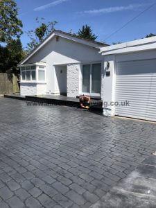 lancaster driveways cobble pattern
